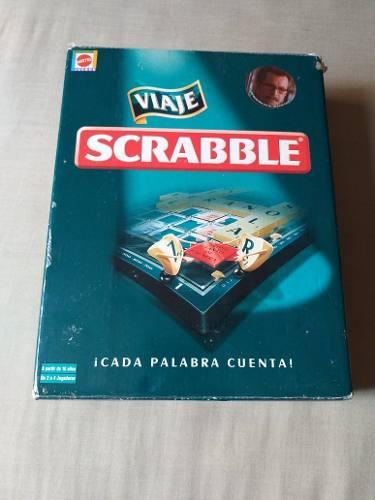 Juego Scrabble Viaje