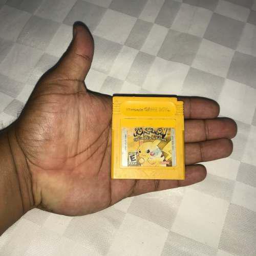 Juegos Nintendo Game Boy Classic 10v Pokemon Yellow Pikachu