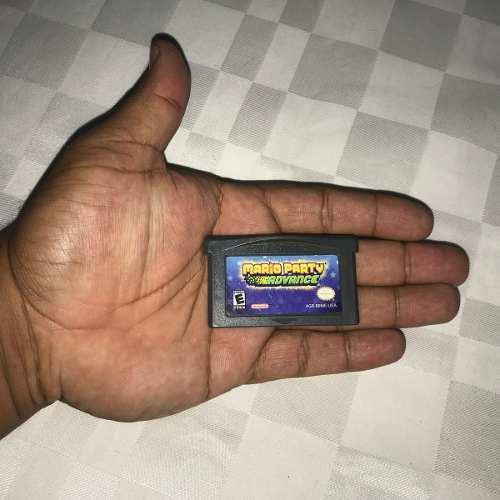 Juegos Nintendo Gba Game Boy Advance 10v Mario Party Advance