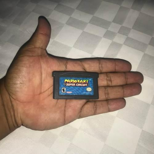 Juegos Nintendo Gba Game Boy Advance 10v Mariokart Super