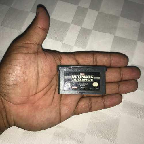 Juegos Nintendo Gba Game Boy Advance 3v Marvel Alliance