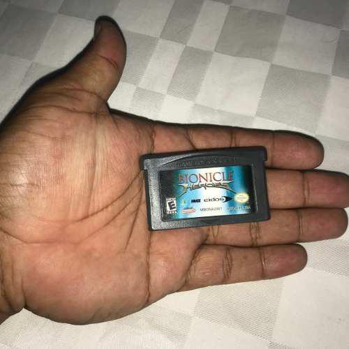 Juegos Nintendo Gba Game Boy Advance 5v Bionicle Heroes