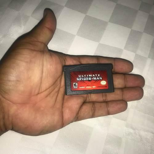 Juegos Nintendo Gba Game Boy Advance (5v) Ultimate Spiderman