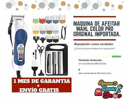 Maquinas De Afeitar Wahl Color Pro Originales
