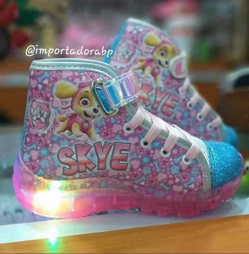 Zapatos Para Niñas Skye Paw Patrol Con Luces