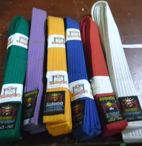 Cintas Para Karate Buschido Tallas 0-2