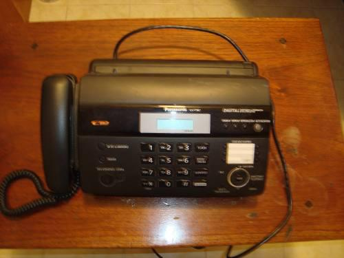 Fax Panasonic Kx Ft987 Usado 10$