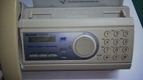 Fax Sharp Ux-p200 Usado En Buen Estado Remate Pregunte