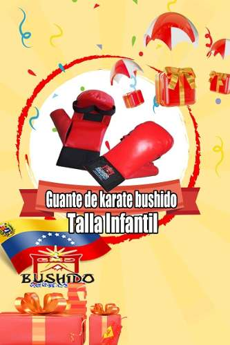 Guantes De Karate Bushido