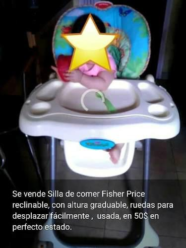 Silla De Comer Para Niños Fisher Price