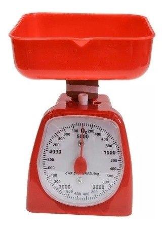 Balanza Peso De Cocina 5 Kilos