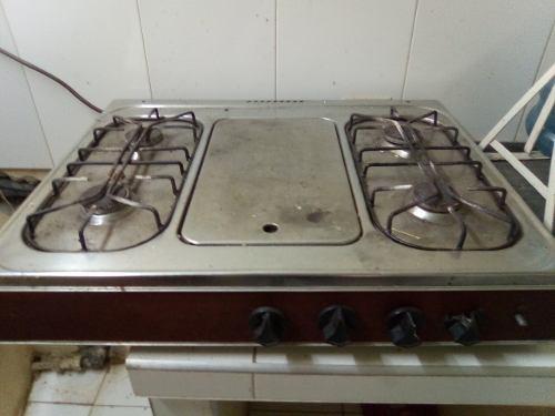 Tope De Cocina De Gas De 4 Hornillas