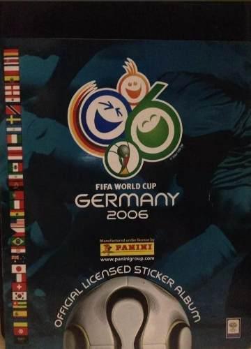 Album Panini Del Mundial De Fútbol Alemania 2006 Lleno