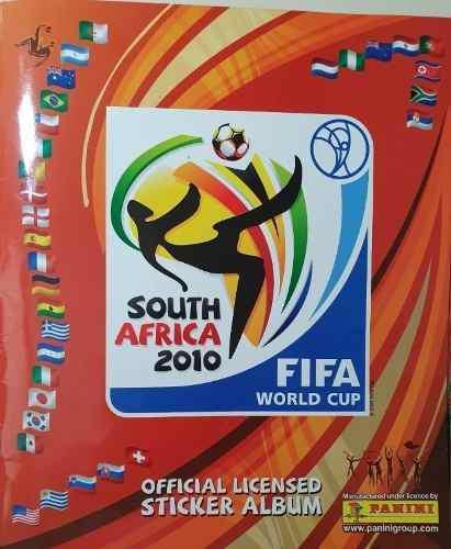 Album Panini Del Mundial De Fútbol Sudafrica 2010 Lleno