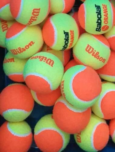 Pelota Naranja De Tenis O Tenis De Playa Wilson Y Babolat