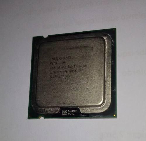 Procesador Intel Pentium D 2.8 Ghz Socket 775 4 M/ 800 Disip