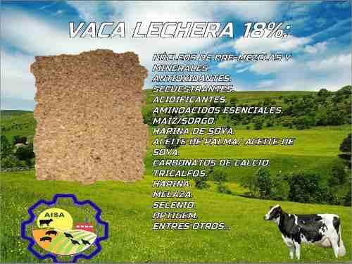 Vaca Lechera 18% Aba Alimentos Balanceados...