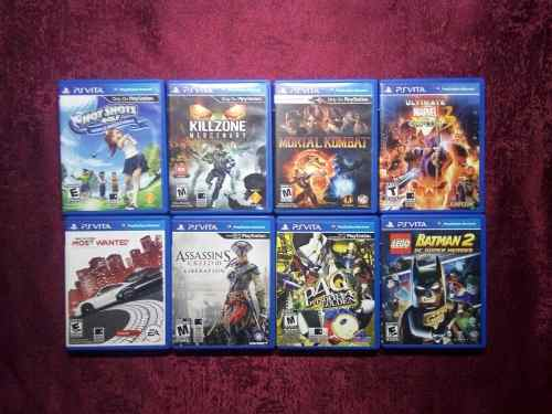 Vendo O Cambio Juegos De Ps Vita Lego Batman Ac Need Marvel