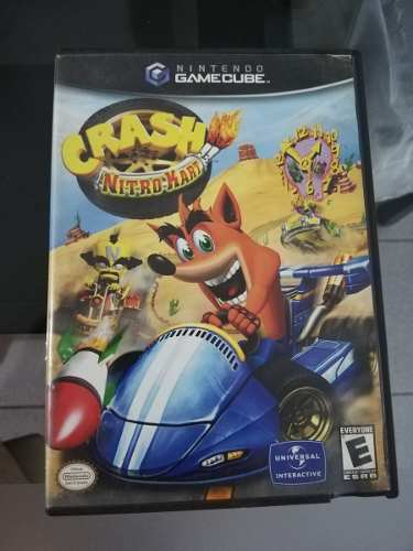 Crash Nitro Kart Para Nintendo Gamecube