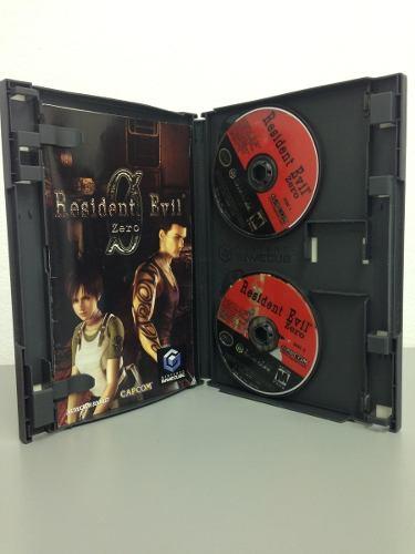 Juego Original De Nintendo Gamecube Resident Evil Zero