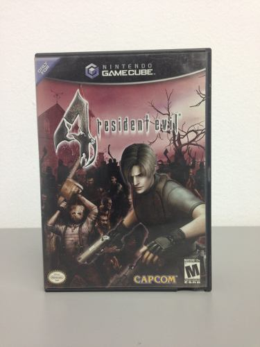 Juego Original Resident Evil 4