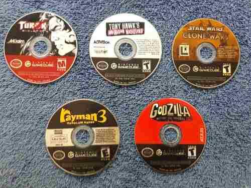 Juegos Originales De Gamecube En Buen Estado (sin Caratula)