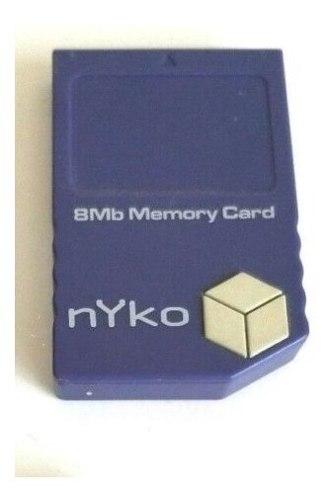 Memoria De Nintendo Gamecube 123 Blocks 8 Mb Wii 3verdes