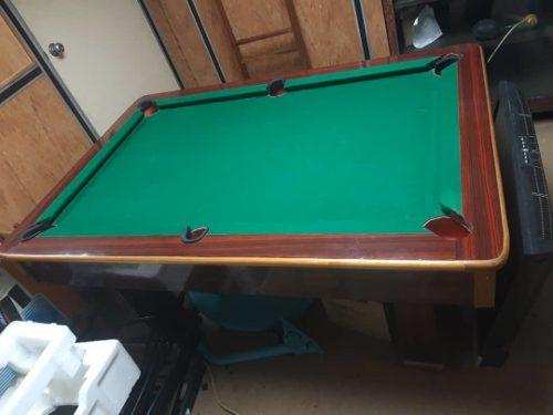 Mesa De Pool En Buenas Condiciones (350trunn)