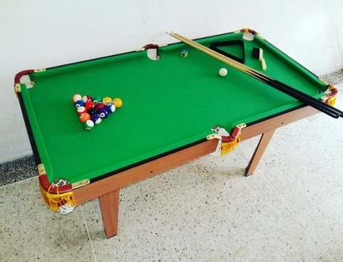 Mesa De Pool Grande Tipo Profesional Niños Jeidy Toy (95)