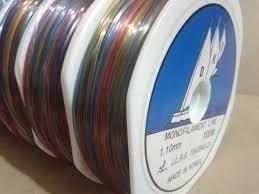 Nylon De Pesca 1.10 Mm Three Yacts Camu Color Carrete 100 Mt