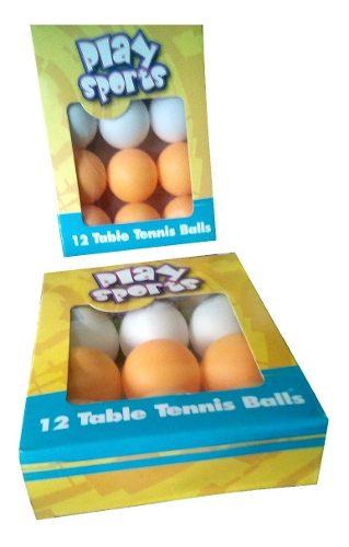 Set De Pelotas De Ping Pong Tenis De Mesa X 12 Unidades Myp