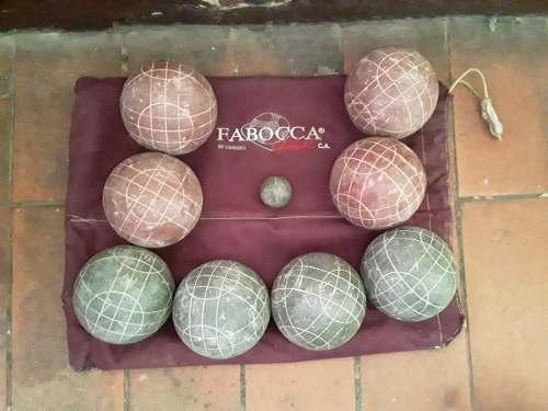2 Juego De Bolas Criollas Profesional Con Mingo C/u, Fabocca