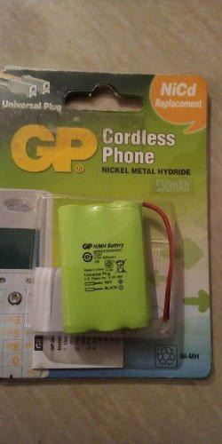 Batería Para Teléfono Inalámbrico T207 Gp 3.6v 550mah