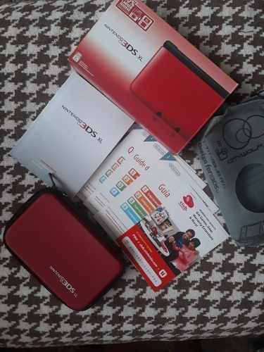 Caja Vacia+ Manuales+base De Carga+carta Nintendo 3ds 3ds Xl