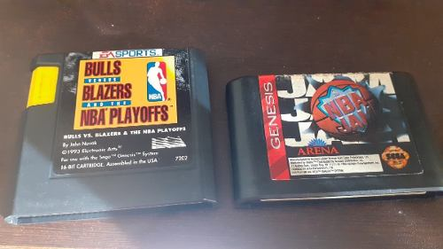 Dos Juegos De Sega Genesis Intactos A Toda Prueba