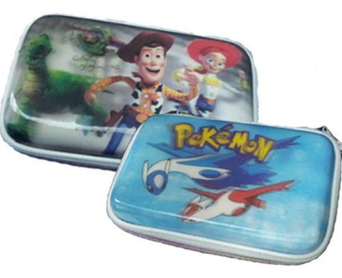 Estuche Protector Dibujo 3d Para Nintendo Ds Lite Dsi 3ds