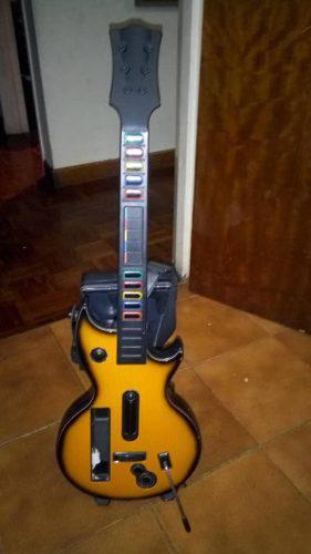 Guitarra Para Wii + Juego. Usada En Perfecto Estado
