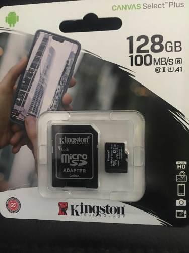Memoria Micro Sd 128 Gb Kingston Original Con Garantía