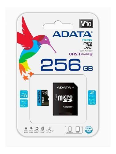 Memoria Micro Sd Adata 256 Gb Clase )
