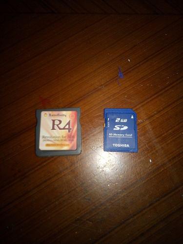 Memoria R4 Para Ds3d