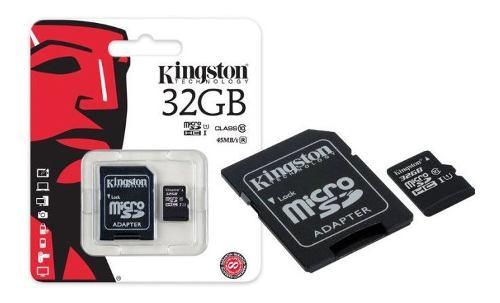 Memoriakingston Micro Sd 32gb Clase 10