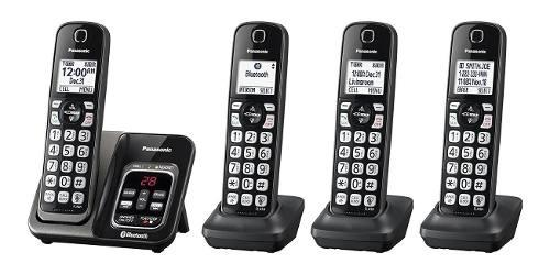 Telefono Inalambrico Panasonic Mod: Kx-tgc-384b De 4 Telef.