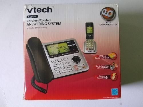 Teléfono Vtech 1 Base Más 2 Auxiliares Oferta