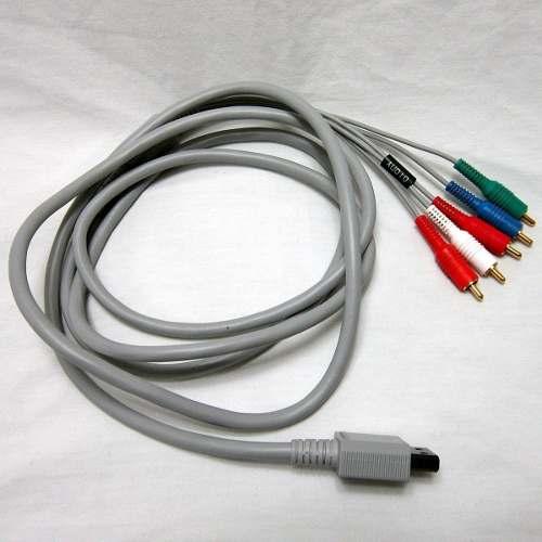 Cable Audio Y Video Componente (ypbpr) Nintendo Wii Rlv-011