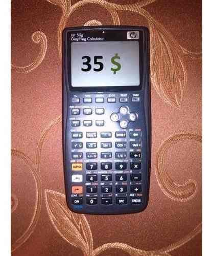 Calculadora Graficadora Hp 50g. Entregas En Aragua O Ccs