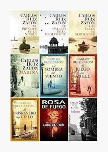 Colección El Juego Del Angel Carlos Ruiz Zafon