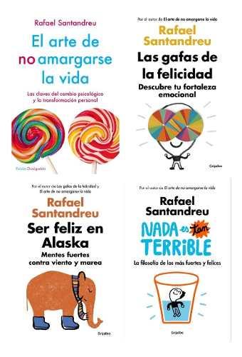 El Arte De No Amargarse La Vida - Rafael Satandreu 4 Libros