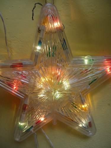 Estrella Para El Arbol De Navidad Con Luz Y Control Movible