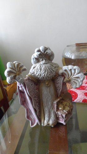 Figura En Ceramica Espiritu De La Navidad