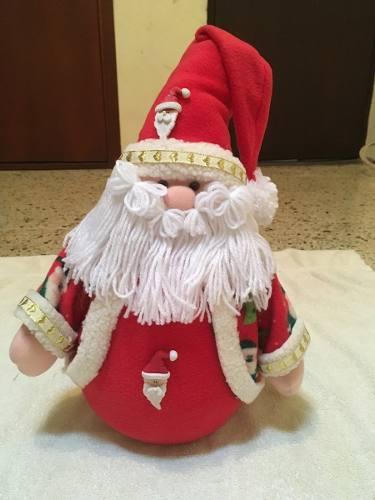 Hermoso Santa Claus Coqueto De Pie O Colgar